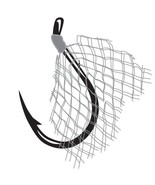 Gamakatsu Mesh Baitholder Hooks - size 12-4lb - qty 3 - sold in lots of ... - $15.00