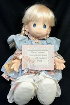 """Precious Moments 1992 Preferred Doll Retailer Series """" Amy """" Limited 1st... - $49.49"""