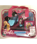 Shakespeare Barbie Telescopic rod and reel with line in bag NEW! - $14.01