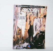 Arizona Highways January 1993 Cave Exploring