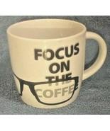 "Funny Cup Mug ""Focus On the Coffee"" Novelty Gift Design Studio MSRF Inc - $8.93 CAD"
