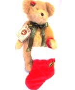 "Boyds Bears ""Holly Sparklesocks"" #99060V- 12"" Plush Bear -QVC Exclusive-... - $39.99"