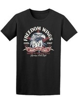Freedom Wings Born To Be Free Men's Tee -Image by Shutterstock - $14.84+