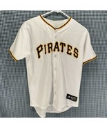 Vintage Majestic Pittsburgh Pirates Jersey Youth/Boy's Size Large  - $14.84