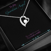 My Guardian Angel - Black Jewellery Box Insert with a Love Heart Pendant - $54.99+