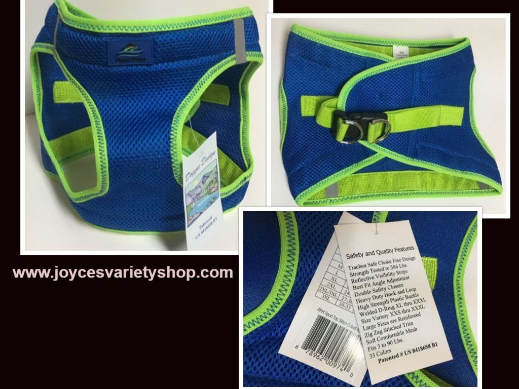 Blue dog harness xxl web collage