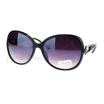 Womens Sunglasses Classic Oversize Round Butterfly Frame - $9.95