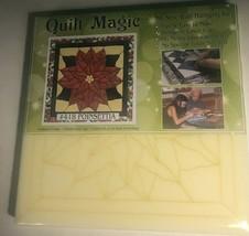 Quilt Magic no sew wall hanging no tools needed - $19.85