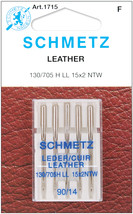 Schmetz Leather Machine Needles-Size 14/90 5/Pkg - $7.85