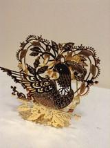 "Danbury Mint - 1989 Gold Christmas Ornament -  ""Partridge"" (A10) - $12.95"
