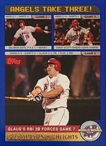 2003 Topps Anaheim Angels Baseball Card #720 Anaheim Angels World Series - $0.99