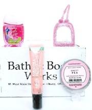 Bath & Body Works Sweet Pea Scentportable, Pocketbac,Holder Pearl Mint l... - $22.10