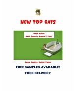 200 New TOP CAT Replacement Pads for Breeze Litter Box Tidy Cat Free Sam... - $121.50