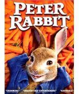 Peter Rabbit DVD 2018 Brand New Sealed Children Family - $5.50