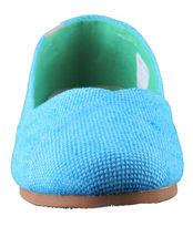 Etnies Femmes Circé Éco W Bleu Turquoise Plats Mary Jane Toile Chaussures Nib image 4