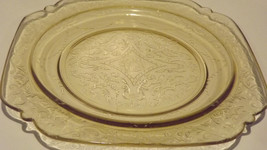 """~1930""""s Federal Amber Madrid Original Pattern Replacement Luncheon Plate~ - $18.23"""