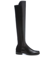 NEW STUART WEITZMAN Leather 5050 Over The Knee Boots (Size 5 M) -MSRP $6... - $549.95