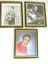 3 Elvis Presley Framed 8 X 10 Picture Print Photos With Matching Frames ... - $33.31