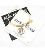 Disney Alex and Ani Princess Snow White Gold Charm Bangle Bracelet - $38.59