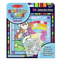 Melissa & Doug Stained Glass Made Easy Activity Kit, Arts and Crafts, UN... - $19.79