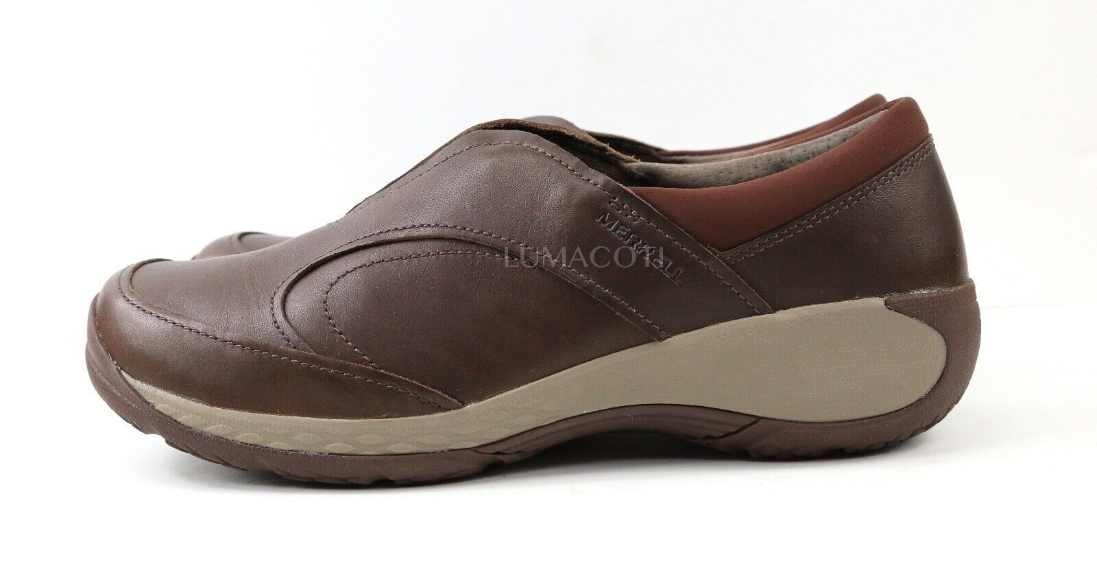 Womens Merrell Encore Q2 Moc Clog - Expresso Leather Size 10 [J45796]
