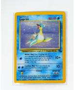 1999 Pokemon Lapras Fossil 10/62 Rare Holo - $39.99
