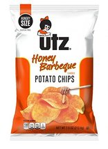 Utz Quality Foods Flavored Potato Chips 7.5 Ounce Hungry Size Bag (Honey Barbequ - $34.62