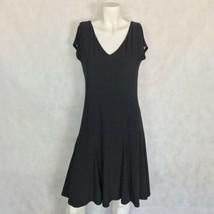 Lauren Ralph Lauren Black White polka dots Sleeveless Career Business Si... - $32.99