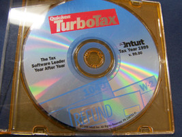 Turbotax tax year 1999 v 99.00 Quicken Intuit - $14.84