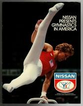 Original  1984 Nissan United States Men Women Summer Olympic Gymnastics Brochure - $9.49