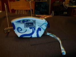 vera Bradley Wristlet in Mediterranean White - $8.50