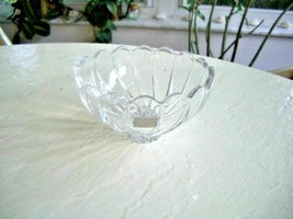 "Mikasa 6"" Crystal Decorative Bowl - $7.92"