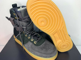 NEW SIZE 9 MEN Nike SF AF1 PRM Air Force SHERPA Fleece Sneakerboots Shoe... - $98.99
