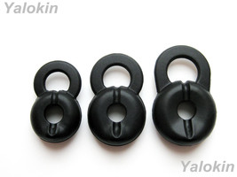 New 3pcs S/M/L Black Eartips Ear-buds For Lg HBM210 HBM310 HBM520 HBM530 HBM570 - $10.77