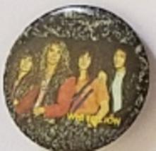 "Vintage 1-1/2""  pinback button: WHITE LION - $4.95"