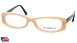 New Emporio Armani Ea 3007 5087 Beige Eyeglasses Frame 53-16-140 (Display Model) - $34.29