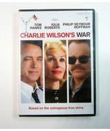Charlie Wilson's War DVD - Tom Hanks - Julie Roberts - New - Factory Sealed - $9.99