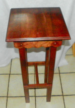 Cherry Plant Stand / End Table  (BH-PS159) - $299.00
