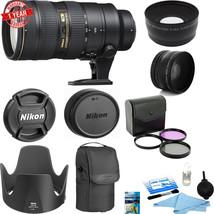 Nikon AF-S Nikkor 70-200mm f/2.8G ED VR II Lens w/77MM Filter Kit Starte... - $2,117.61