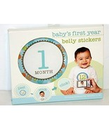 Stepping Stones Baby's First Year Belly Stickers 082272945678 - $9.89