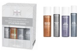 Goldwell USA KeraSilk Control Shampoo, Conditioner, Finishing Spray