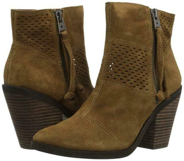 Lucky Brand Lk-Ramses Tapenade Oiled Suede, Size 9.5 M image 5