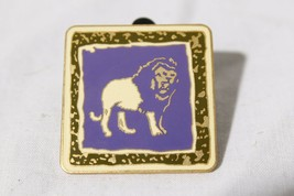 2005 Walt Disney Official Pin Trading Purple Lion Square Collectible Pin - $32.62