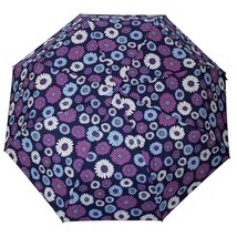 Fashion Flower Automatic Umbrella Rain Women Small Umbrella Men 3Folding... - $21.00