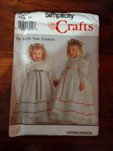 Simplicity 8097 Size 2-6 Child's Dress Pinafore Wings Angel - $11.64