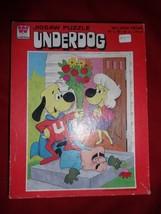 Whitman UNDERDOG jigsaw puzzle Sweet Polly Purebred/Simon Bar Sinister - $7.00