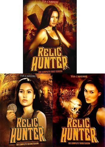 Relic Hunter: The Complete Series Seasons 1 2 3 [DVD Sets New] Tia Carrere