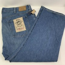 Polo Ralph Lauren NEW Big Mens Sz 48 B X 30 Hampton Straight Jeans NWT - $56.95