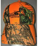 Sharpnack Chevrolet Buick Mens Hat Baseball Cap Mossy Oak Camo Mansfield... - £9.43 GBP
