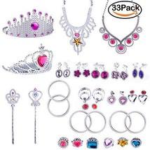WATINC Princess Pretend Jewelry Toy Girl's Easter Tiara Dress Up Play Se... - $13.87